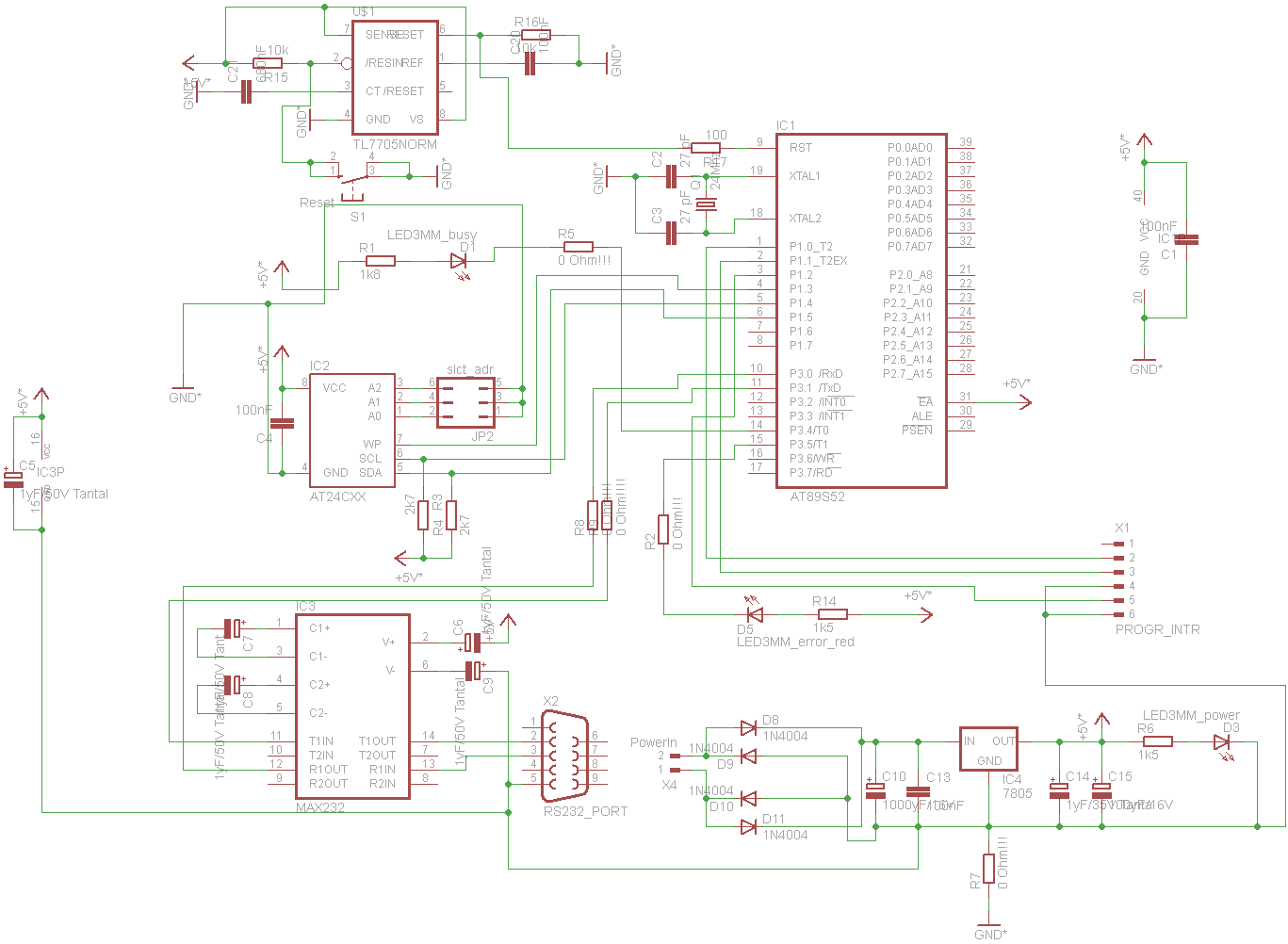 Index Diagram The Complete Wiring Of Circuit Is Shown Below By Clicking On Schematic It Can Be Seen In Full Size After I Have Tested This Configuration Decided To Make A Pcb Design Eagle